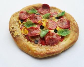pizza 12th scale miniature