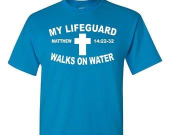 Matthew 14:22 shirt, Faith shirt, Christian Shirt, Religious Shirt, Religious Gift, Christian Gift, Church Gift, Christ Shirt, Jesus Shirt