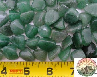 Tumbled Green Aventurine gemstones