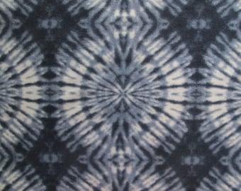 Navy Tie-Dye Print