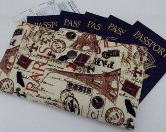 Dollbirdies Family Size Passport Wallet, Family Travel Wallet