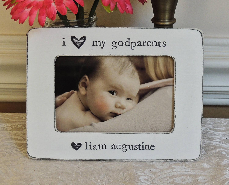 Ausgezeichnet Godparents Picture Frames Bilder - Benutzerdefinierte ...