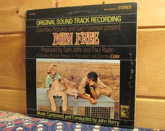 Born Free - Original Sound Track Recording - 33 1/3 Vinyl Record