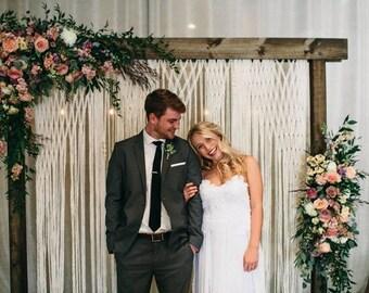 Boho Wedding Backdrop Wedding Photography Backdrop Wedding Decor Photo Booth Rustic Wedding Decor