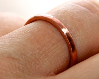 Ring Band * Plain Ring * Simple Ring * Minimalist Ring * Textured Ring * Hammered Ring * Simple Band Ring * Stacking Rings  * Little Ring