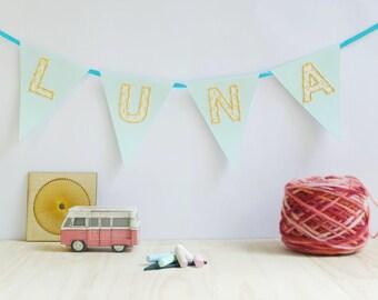 Nursery decor - banner