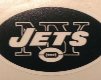 New York Jets 4 inch decal vinyl sticker