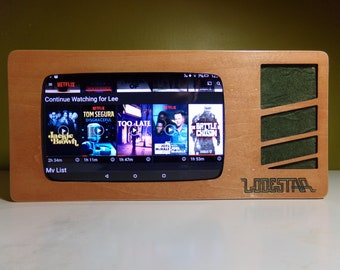 RETROVISION - Kindle Fire 7 Bluetooth Speaker Display Stand - Lodestar Edition