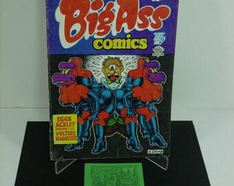 "1960's Underground Comix-R.Crumb's ""Big Ass"" Comics"