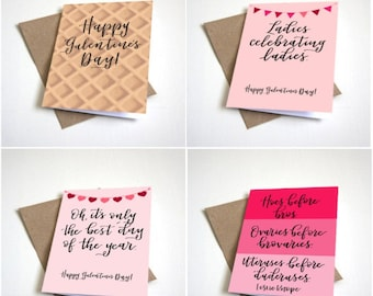 """Galentine's Card Set 2 