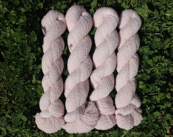 Soft Pink 100% Cashmere Recycled Yarn