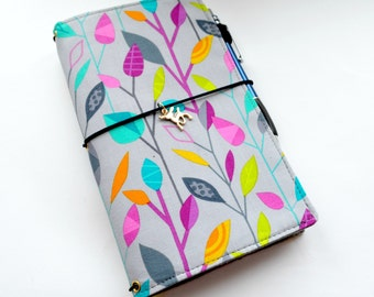 A5, B6, a6 Fabric Cover Fauxdori, Travelers Notebook, Midori insert, Cover fabric, A5, A6, Field Notes, Mini size, Pocket size