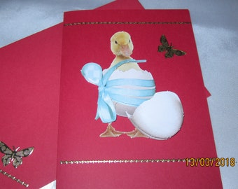 Greeting card and matching envelope