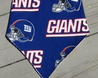 New York Giants Bib ~ New York Giants Bibdana ~ New York Giants Bandana Bib ~ New York Giants Baby ~ Football Baby ~ Football Bib