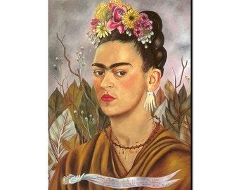 Frida Self Portrait refrigerator Magnet
