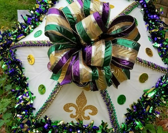 Second Line Wedding Umbrella,   Brides Umbrella, Mardi Gras Umbrella, Bridal Umbrella