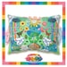 Kawaii Universe - Cute World Peace Showers Designer Bed Pillow