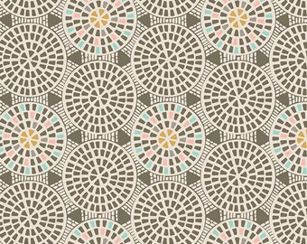 One Yard Drift - Gemmed Pathways in Terra - Cotton Quilt Fabric - from Angela Walters for Art Gallery Fabrics (W1703)