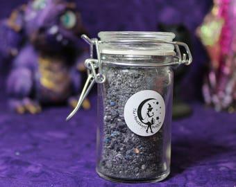 Jar Of Galaxy Goo Fizzing Bath Salts - New - Handmade