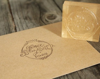 Custom Logo Stamp (3 x 3 inches) + Custom Design