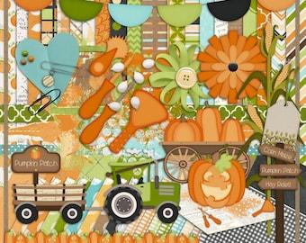 Pumpkins, Pumpkins, Pumpkins Digital Scrapbook Kit