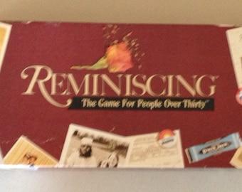 Vintage 1989 Reminising game