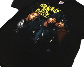 Vtg 1993 Naughty By Nature 'III' t-shirt