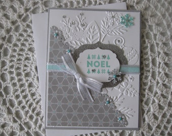Handmade Greeting Card: Christmas Noel