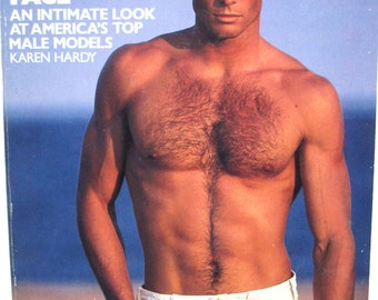 Book: Not Just Another Pretty Face - America's Top Male Models, 1983, by Karen Hardy