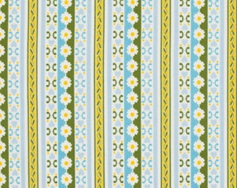 Circa  cotton Fabric by Jennifer Paganelli for FreeSpirit Fabrics PWJP074-BLU Blue Bradlee