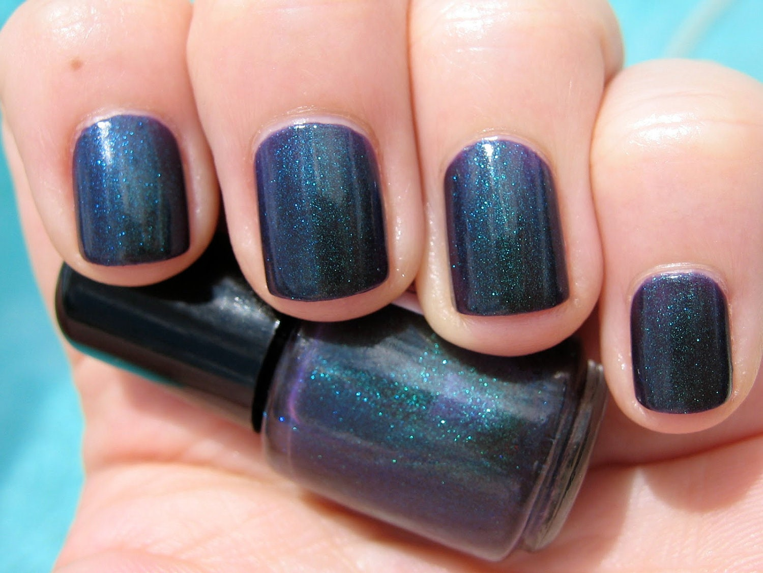 Unicorn Tears Violet Duochrome Color Shifting Indie Nail