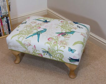 Queen Anne Footstool menagerie