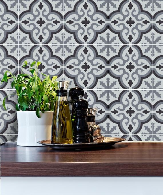 Tile Sticker for Kitchen Backsplash bathroom floor Removable