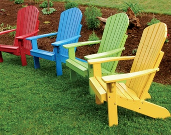 Fanback Adirondack Chair - FREE Shipping!