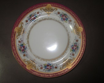 "Noritake Japan 10"" Plate Early 1900's"
