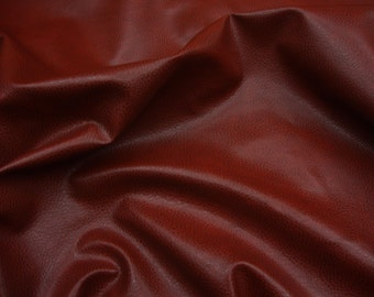 """54"""" Wide Red Upholstery Ford faux leather Vinyl fabric per yard"""