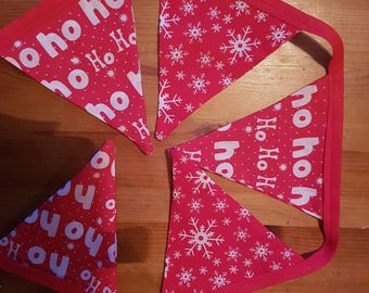 READY TO SHIP Christmas Bunting