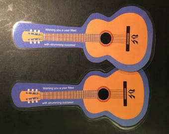 2 Guitar Bookmarks
