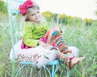 Leg Warmers Short & Sweet for Toddlers