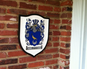 Historic Family Crest /  Coat of Arms
