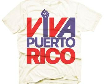 Men's Viva Puerto Rico - Hurricane Relief T-Shirt
