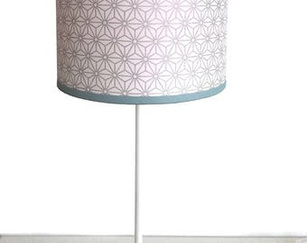 SMALL LAMPSHADE PATTERN JAPANESE SILVER STARS