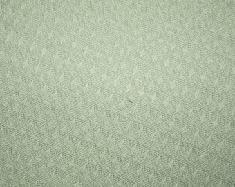 Sage Green Waffle Cloth by James Thompson & Co.