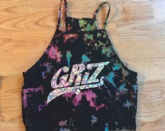 Custom GRIZ Crop Top (Available in 3 colors)