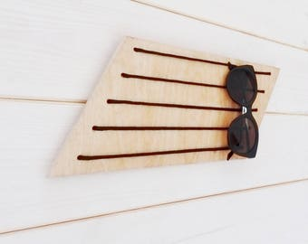 sunglasses holder, gift for her, gift for girlfriend, glasses stand, glasses holder wall, house gift, sunglasses organizer, glasses case