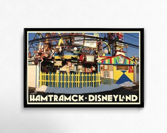 Hamtramck Disneyland 11x17 Print