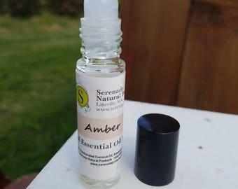 Amber Essential Oil Roll-On/Essential Oil Perfume
