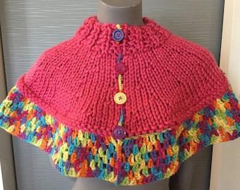 warmer, shawl, handmade unique