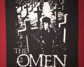 The Omen Cloth Punk Patch