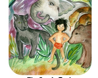 The Jungle Book: A Mini Learning Guide, Learn about nouns, verbs and adjectives